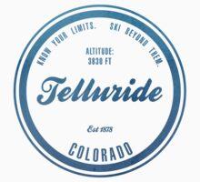 Telluride Ski Resort Colorado One Piece - Short Sleeve