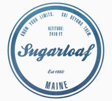 Sugarloaf Ski Resort Maine One Piece - Short Sleeve