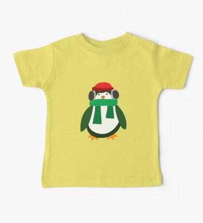 Snow Penguin  Baby Tee