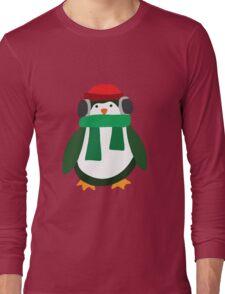 Snow Penguin  Long Sleeve T-Shirt