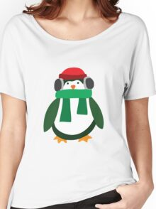 Snow Penguin  Women's Relaxed Fit T-Shirt