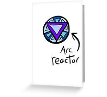Arc reactor Greeting Card