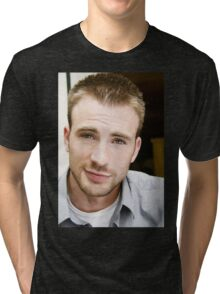 chris evans Tri-blend T-Shirt