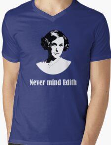Never mind Edith Mens V-Neck T-Shirt