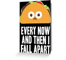 Taco Eclipse Of The Heart Greeting Card