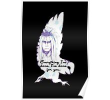 Labyrinth Everything I've Done Owl Poster