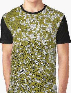 Bled Out Olive Graphic T-Shirt