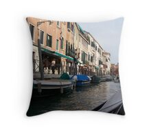 Gondala Ride Throw Pillow