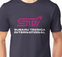 Subaru Tecnica International  Unisex T-Shirt