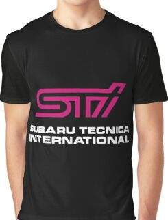 Subaru Tecnica International  Graphic T-Shirt