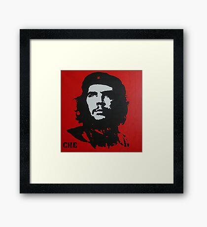 Red Che Framed Print