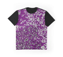Bled Out Purple Graphic T-Shirt