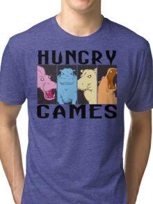 Hungry Hippo Games Tri-blend T-Shirt