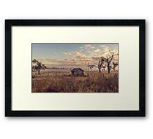 Muswellbrook NSW Australia Framed Print