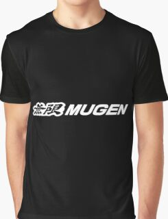 MUGEN Black Graphic T-Shirt