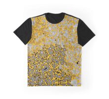 Bled Out Gold Graphic T-Shirt