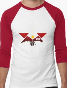 JAPAN CLASSIC RETRO ANIME ROBOT VOLTES V FIVE  Men's Baseball ¾ T-Shirt