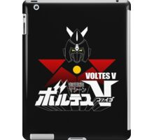 JAPAN CLASSIC RETRO ANIME ROBOT VOLTES V FIVE  iPad Case/Skin