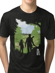 The Last of Us into the woods Tri-blend T-Shirt