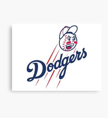 Dodgers - Angry Canvas Print