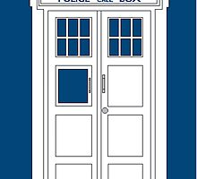 Inverted Tardis by Themaninthefez