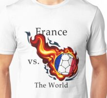 World Cup - France Versus the World Unisex T-Shirt