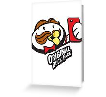 The Original Duck Face Greeting Card