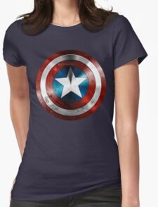 ORGINAL GUARD OF CAPTAIN AMERICA MOVIE Womens Fitted T-Shirt