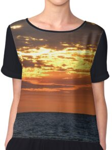Nightcliff Twilight Women's Chiffon Top