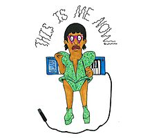 "Gene Belcher as Lady Gaga: ""THIS IS ME NOW"" Photographic Print"