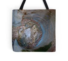 hollowed rock pool Tote Bag