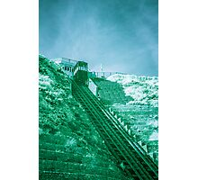 Infra-Red Cable Car Photographic Print