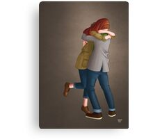 Together or Not At All (Doctor Who) Canvas Print