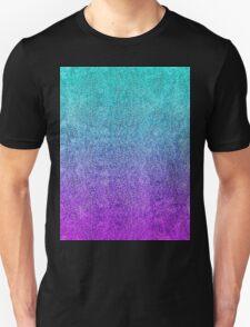 Tropical Twilight Glitter Gradient Unisex T-Shirt