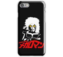 JAPAN CLASSIC SUPERHERO TOKUSATSU MEGALOMAN  iPhone Case/Skin