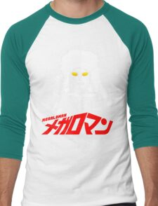 JAPAN CLASSIC SUPERHERO TOKUSATSU MEGALOMAN  Men's Baseball ¾ T-Shirt