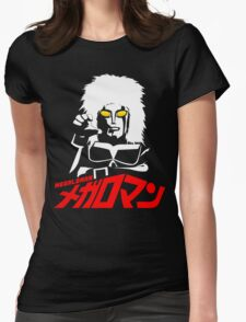 JAPAN CLASSIC SUPERHERO TOKUSATSU MEGALOMAN  Womens Fitted T-Shirt