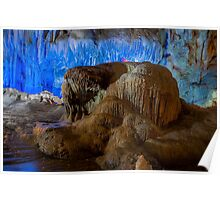 Vietnam Hang Dau Go stalagmites cave  Poster