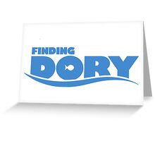 finding dory Greeting Card