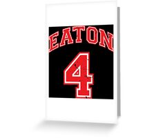 Eaton 4 Greeting Card