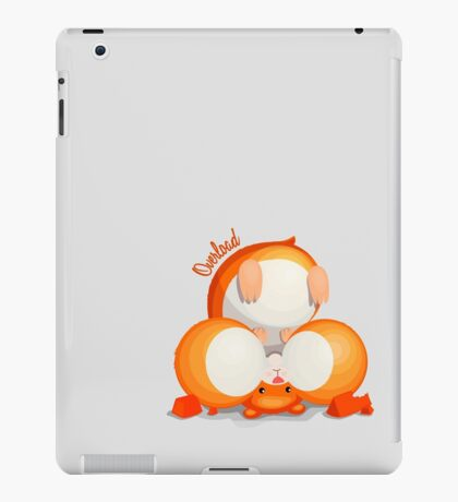 Hamster - Overload iPad Case/Skin