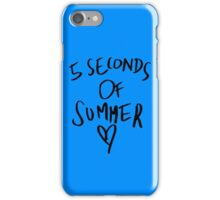5 second of summer iPhone Case/Skin