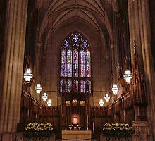 Duke Chapel Sanctuary  by Kadwell