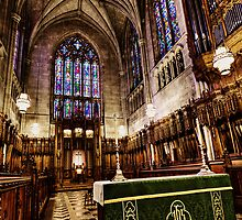 At Rest Inside Duke Chapel by Kadwell