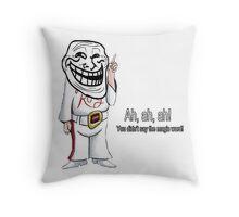Jurassic Troll Throw Pillow