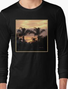 First Day of Spring ~ Florida Sunset  Long Sleeve T-Shirt