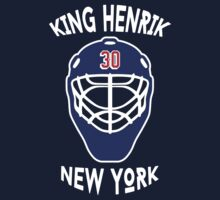 King Henrik New York Rangers T-shirt by chadkins