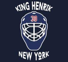 King Henrik New York Rangers T-shirt by chadkins