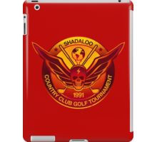 Shadaloo Golf Tournament 1991 iPad Case/Skin