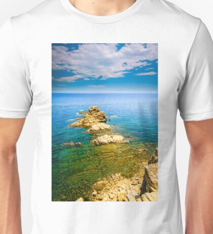 View from a cliff - Javea Unisex T-Shirt